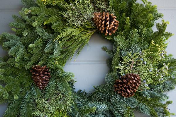 Holiday Wreath 'N Sip @ Hancock Shaker Village